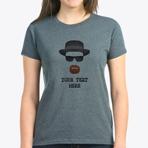 [Your Text] Heisenberg Women's Dark T-Shirt